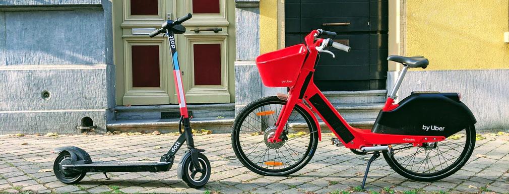 Monopattini elettrici e bici elettriche per muoversi in città